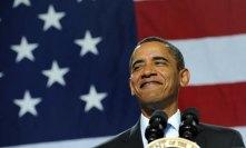 Obama happy