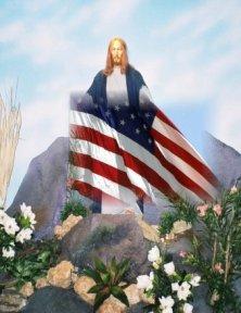 jesus-holding-flag