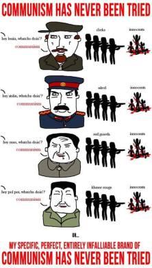 communism never tried