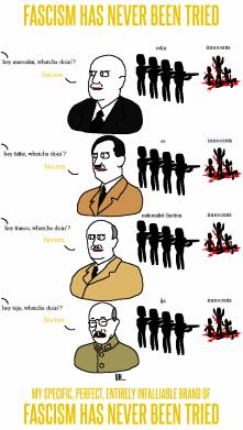 fascism never tried